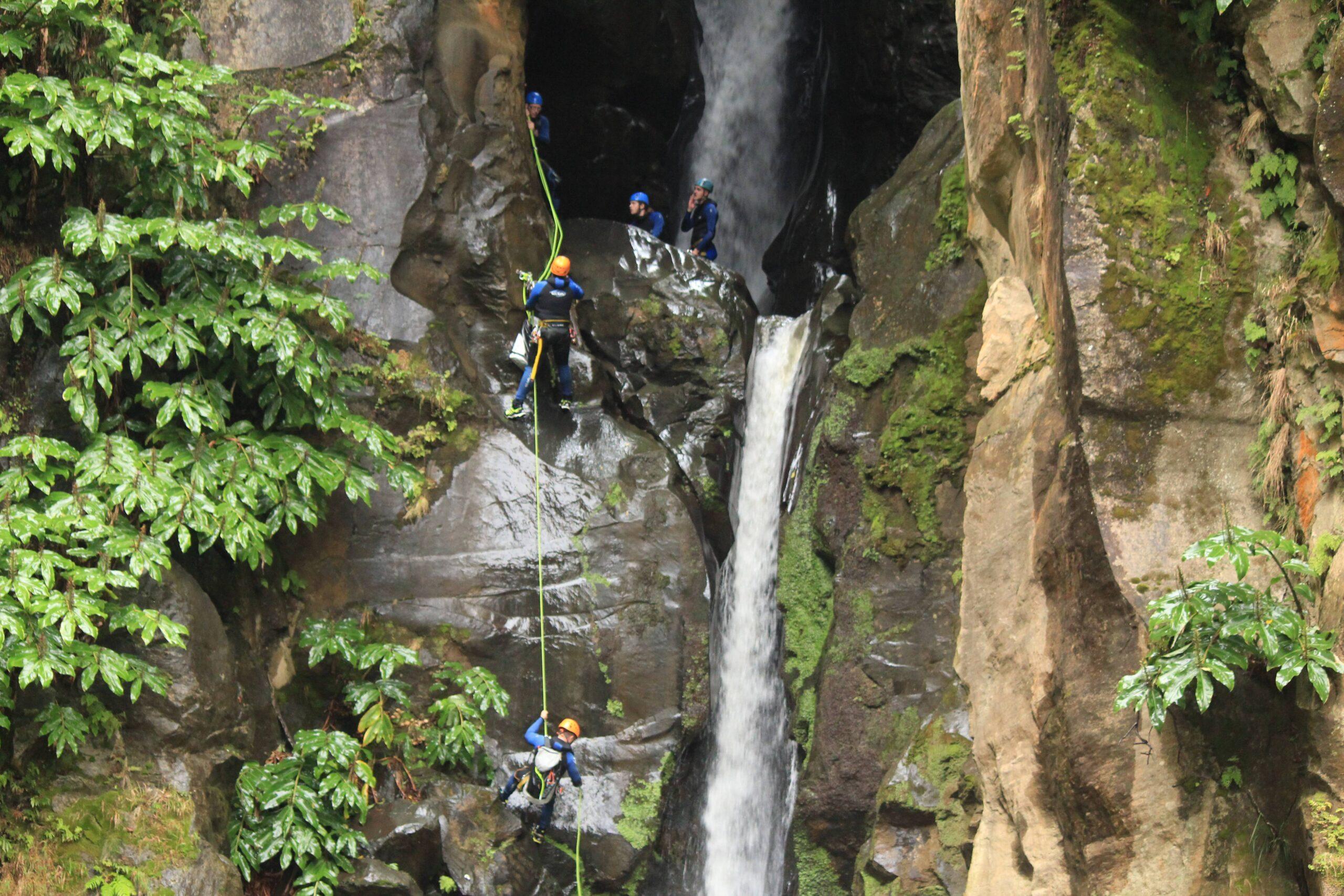 Canyoning em São Miguel