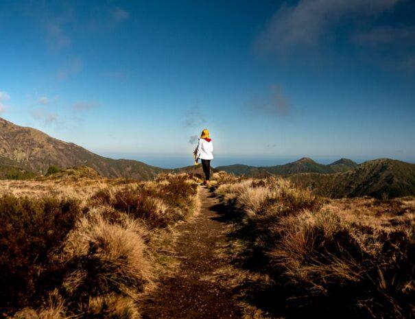 Azores, Hiking Pico da Vara
