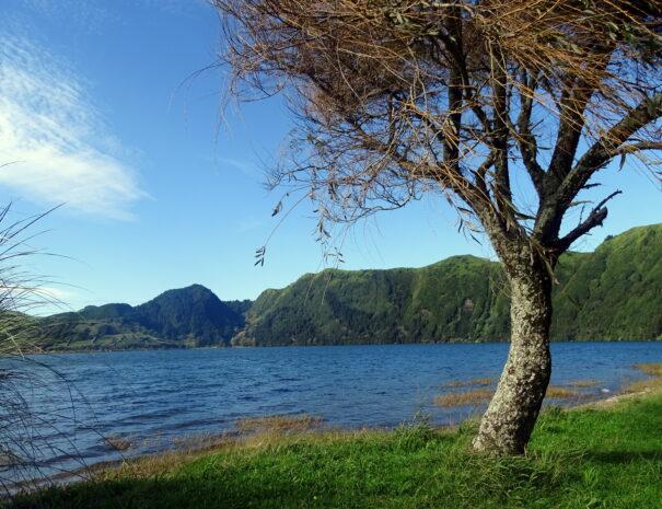 Lagoa Azul, panorama, paisagem