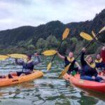Canoagem na lagoa das furnas São MIguel