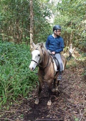 Passeio a cavalo em São MIguel, Açores