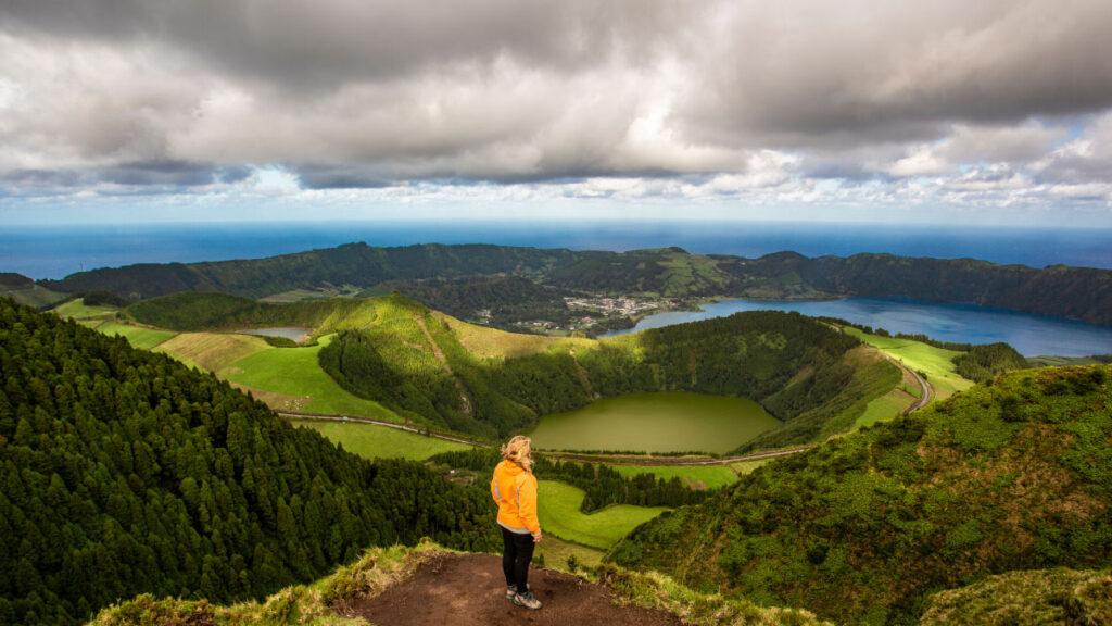 Miradouro da Boca do Inferno - São Miguel - Ilha Verde