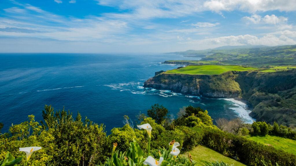Miradouro Santa Iria - São Miguel - Ilha Verde